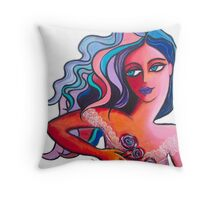 The Runaway Throw Pillow