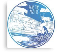 Save the Arctic! Canvas Print