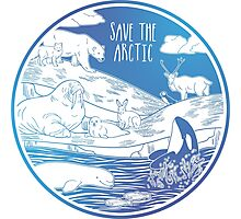 Save the Arctic! Photographic Print
