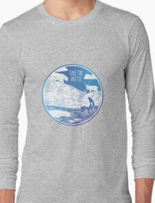 Save the Arctic! Long Sleeve T-Shirt