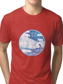 Save the Arctic! Tri-blend T-Shirt