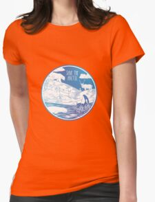 Save the Arctic! Womens Fitted T-Shirt
