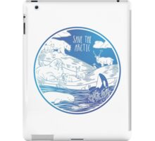 Save the Arctic! iPad Case/Skin