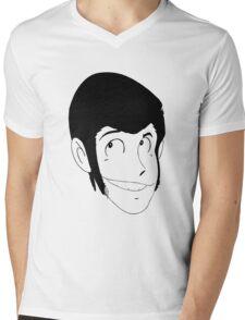 Lupin The Third Mens V-Neck T-Shirt