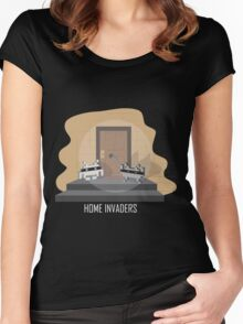 Home invaders Women's Fitted Scoop T-Shirt