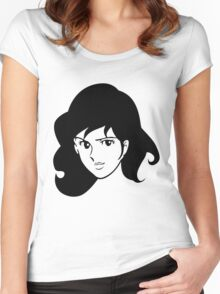 Fujiko Lupin The Third Women's Fitted Scoop T-Shirt