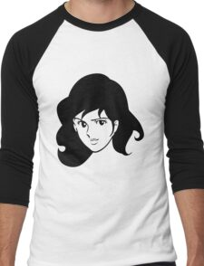 Fujiko Lupin The Third Men's Baseball ¾ T-Shirt