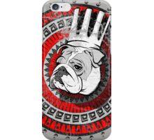 Bulldog king iPhone Case/Skin