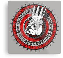 Bulldog king Metal Print