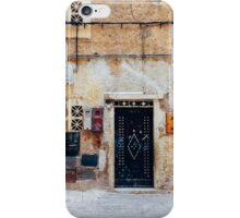 Facade Detail in Morocco iPhone Case/Skin