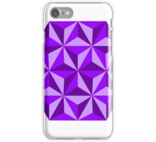 Purple Triangular Octagon iPhone Case/Skin