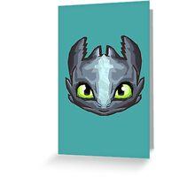 Dragon Vector Greeting Card