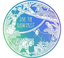 Save the Rainforest! Photographic Print