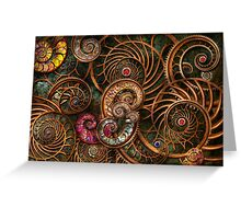 Abstract - The wonders of Sea Greeting Card