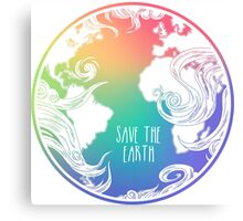 Save the Earth! Canvas Print