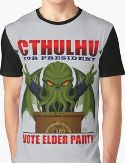 Cthulhu for President Graphic T-Shirt