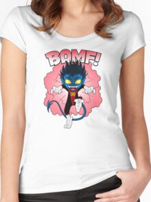 BAMF! Women's Fitted Scoop T-Shirt