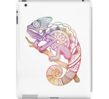 Rainbow Chameleon iPad Case/Skin