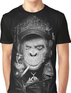 FUNKY MUNKY Graphic T-Shirt
