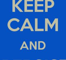 Keep Calm and Use Persistent Identifiers Sticker