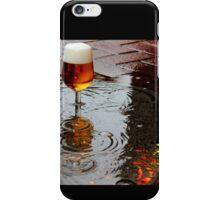 Sidewalk Beer iPhone Case/Skin