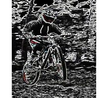 Mountain Bikes Photographic Print