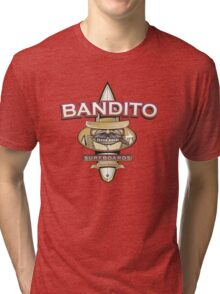 Bandito Surfboards Tri-blend T-Shirt