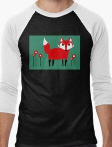 FOX VISIT #1 Men's Baseball ¾ T-Shirt