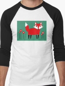 FOX VISIT #1 Men's Baseball ¾ T-Shirt