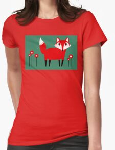 FOX VISIT #1 Womens Fitted T-Shirt