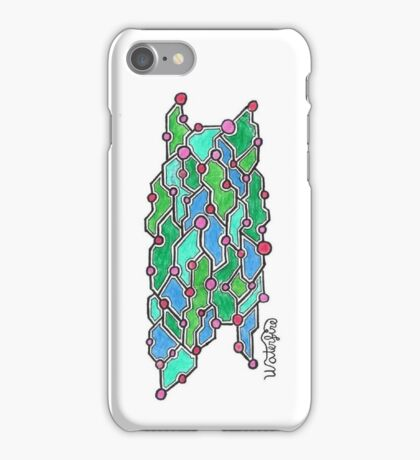 Wire You Overthinking This? iPhone Case/Skin