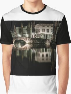 Canal reflection Graphic T-Shirt