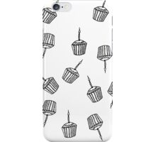 Mini Cupcake with Candle Pattern iPhone Case/Skin