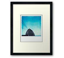 Polaroid of Rio de Janeiro's Sugarloaf Framed Print