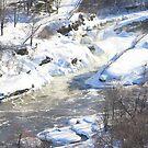 Hogs Back Falls, Ottawa, Canada...Spring Run Off. by vette