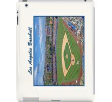 Los Angeles Baseball iPad Case/Skin