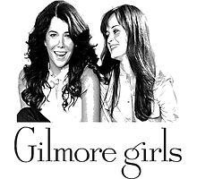 gilmore girls-Lorelai & Rory Photographic Print