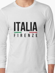 Firenze Italia  Long Sleeve T-Shirt