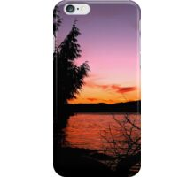 Vancouver Island Sunset iPhone Case/Skin