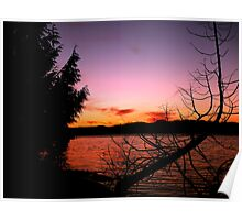 Vancouver Island Sunset Poster