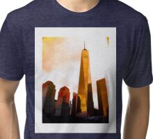 Freedom Tower Tri-blend T-Shirt