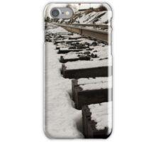 Snowy Tracks iPhone Case/Skin