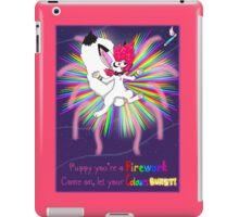 Puppy firework iPad Case/Skin