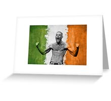 #TheNotorious Conor McGregor Greeting Card
