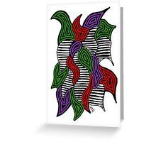 Doodle Bug 6 Greeting Card