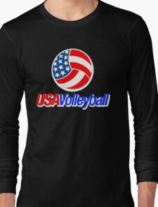 USA TEAM VOLLEYBALL  Long Sleeve T-Shirt