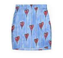 Hearts on a String Mini Skirt