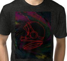 Space Helmet Tri-blend T-Shirt