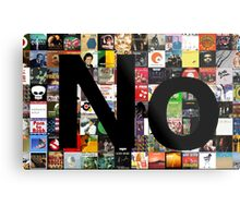 No (Album Covers background) Metal Print