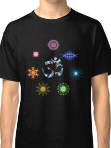 7 Chakra wheel Classic T-Shirt